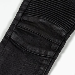 Frankie Waxed Biker Denim - Haus of JR