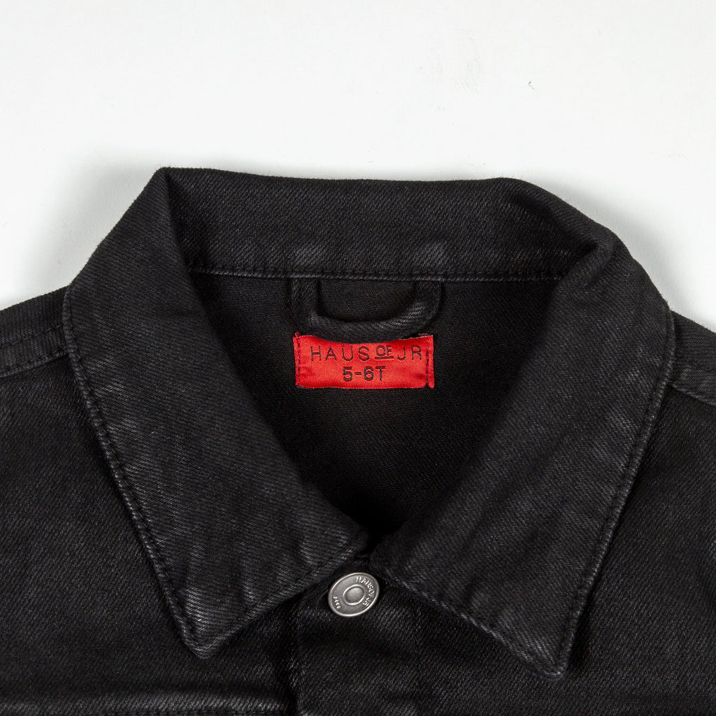 Frankie Waxed Denim Jacket - Haus of JR