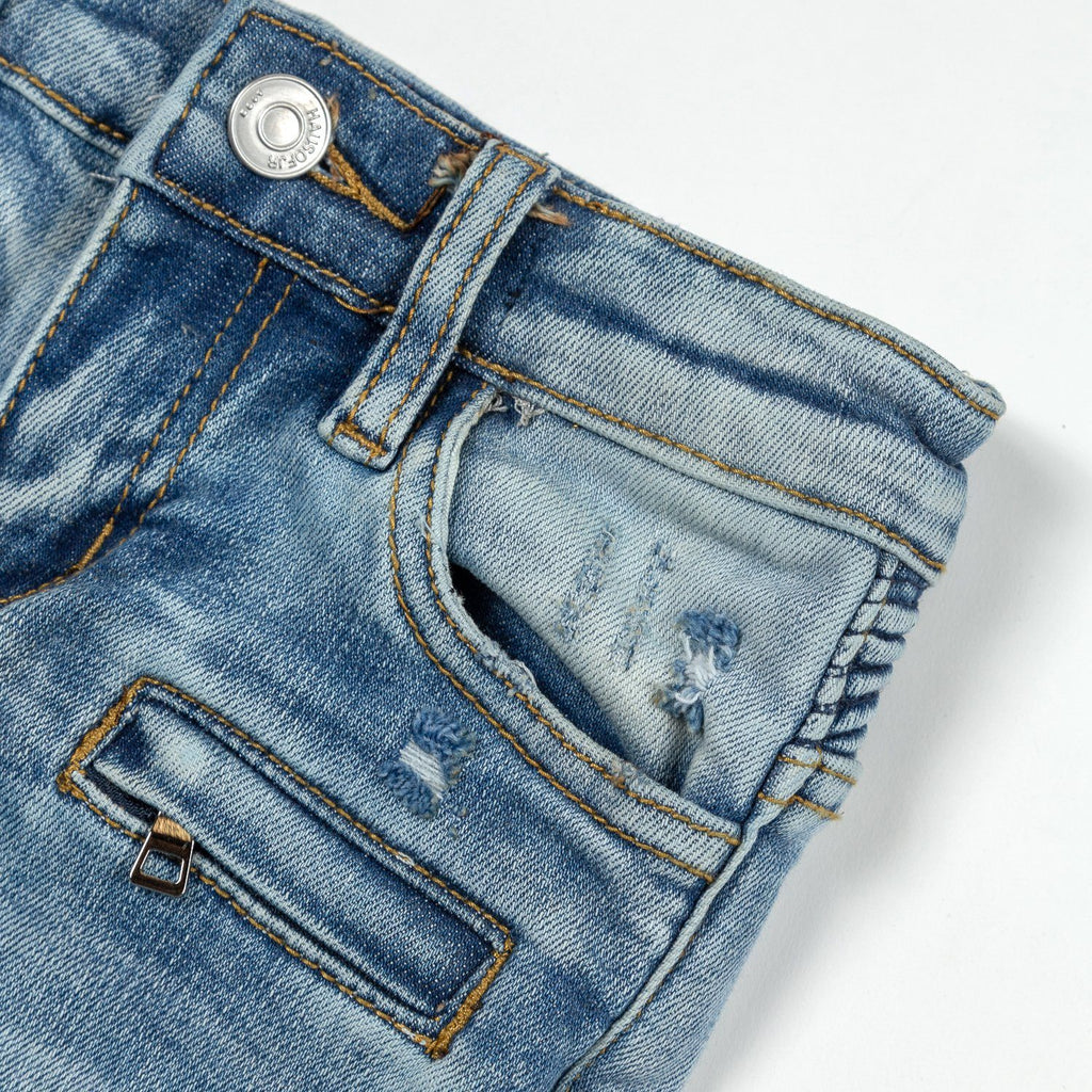 Carson Biker Denim - Haus of JR