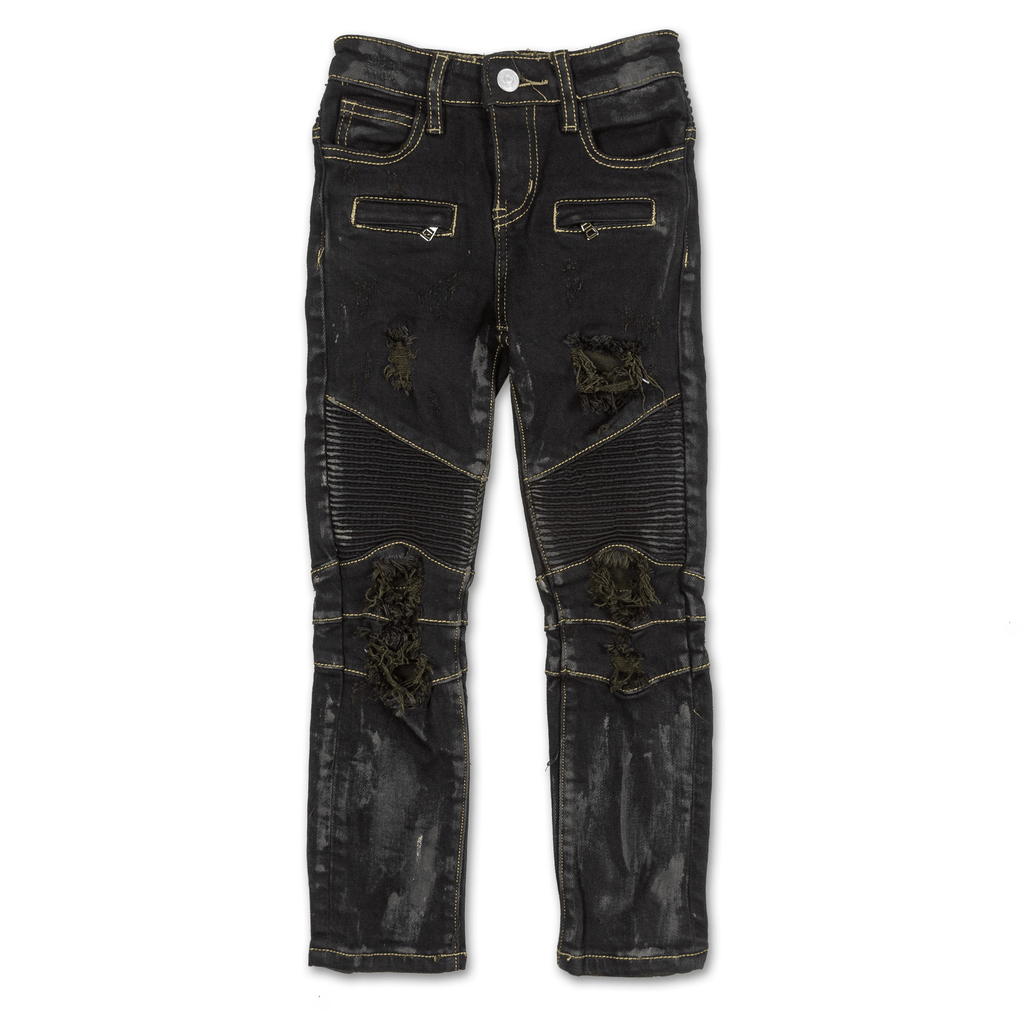 Avery Biker Denim - Haus of JR