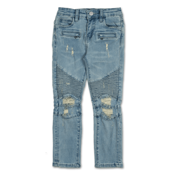 Finley Biker Denim