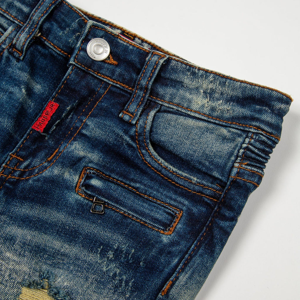 Ethan Biker Denim - Haus of JR