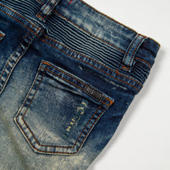 Ethan Biker Denim Bottoms Haus of JR