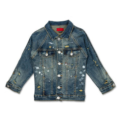 Elijah Denim Jacket - Haus of JR