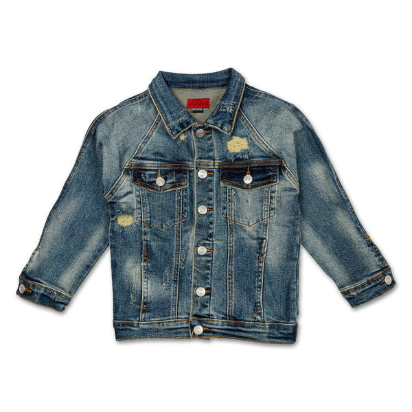 Logan Denim Jacket Outerwear Haus of JR