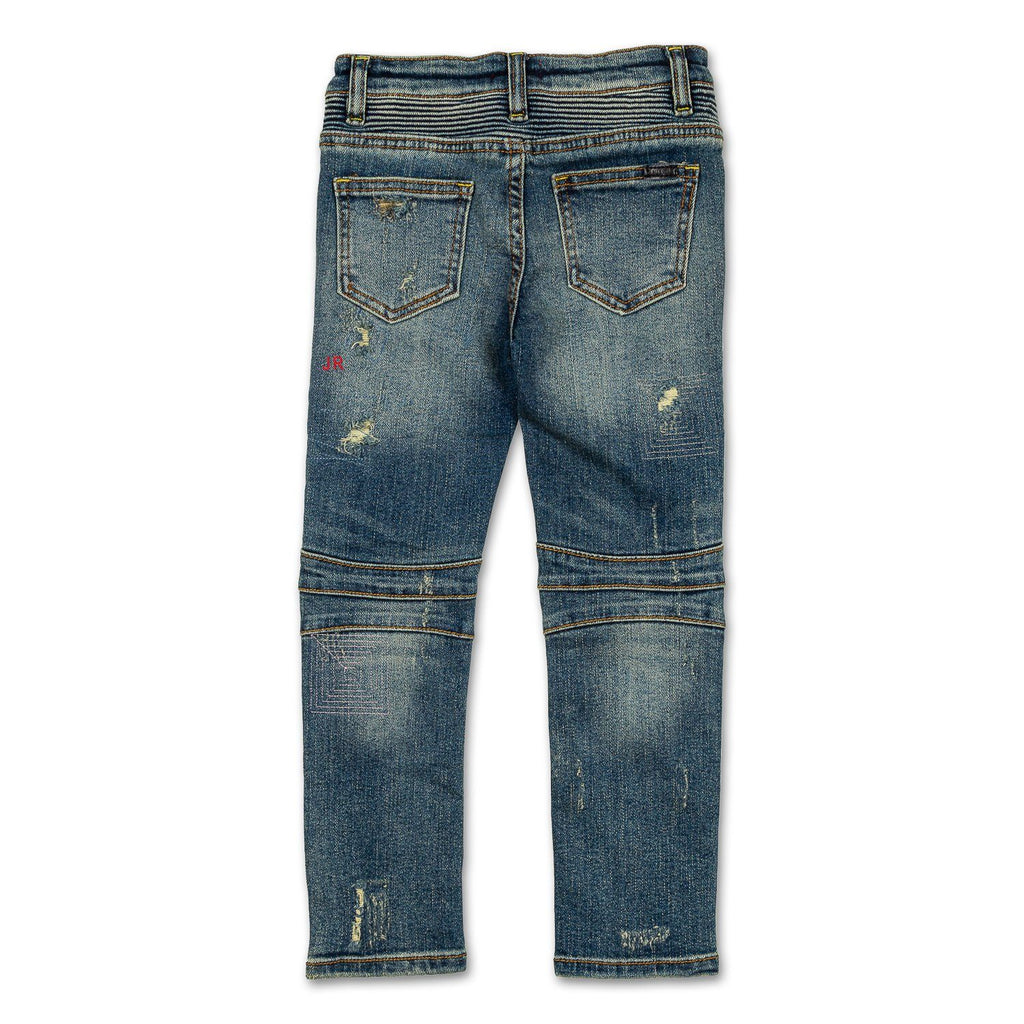 Logan Biker Denim - Haus of JR