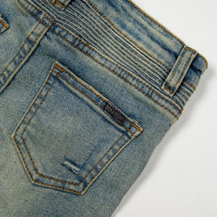 James Biker Denim Bottoms Haus of JR