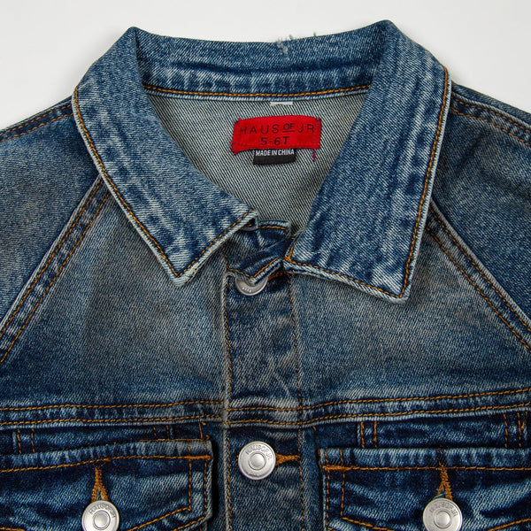 Lucas Denim Jacket Outerwear Haus of JR