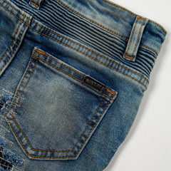 Lucas Biker Denim Bottoms Haus of JR