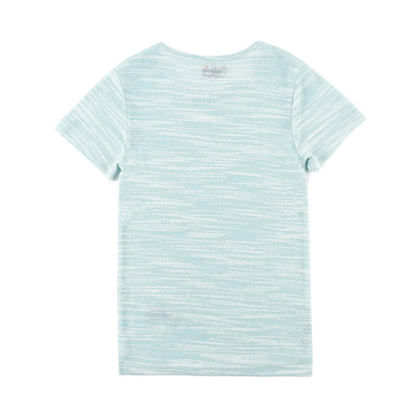 Mark Hi/Lo Short Sleeve Tee (Sky Blue)