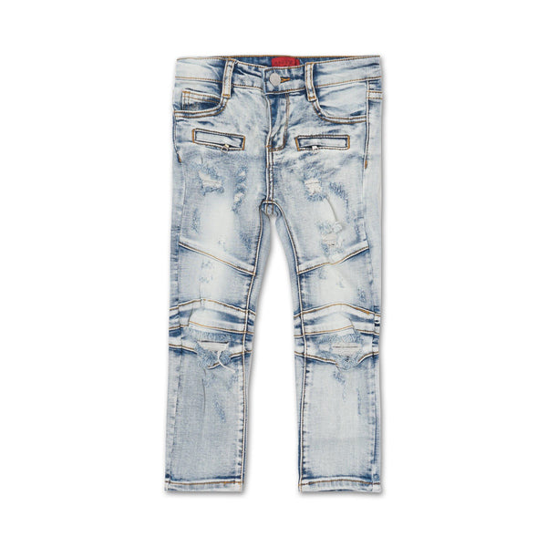 Mason Biker Panel Denim - Haus of JR