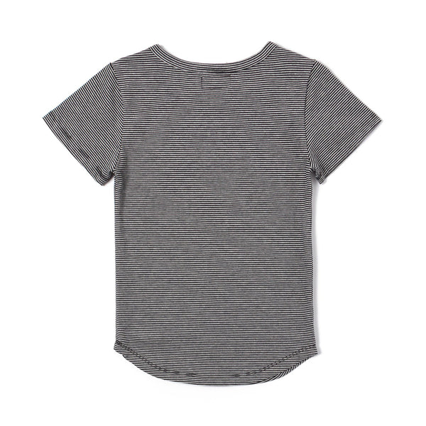 Mich E-Long Tee (Black/Heather)