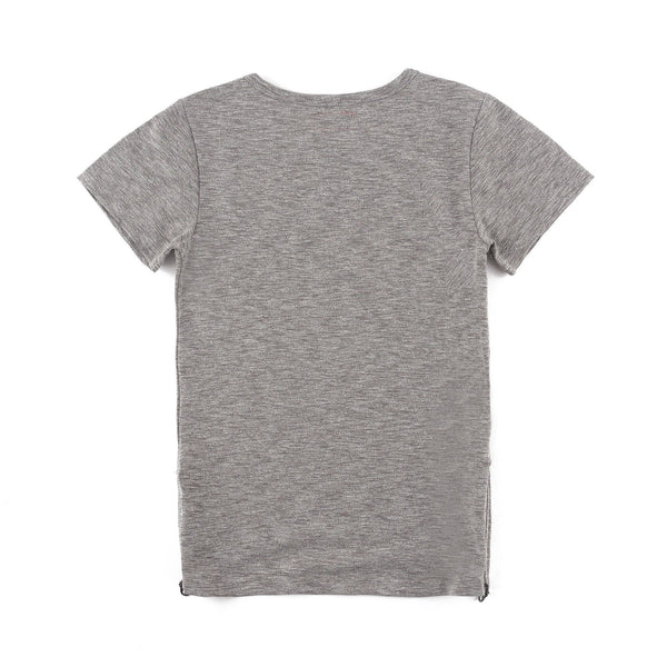 Preston 4 Short Sleeve Tee (Heather Grey)