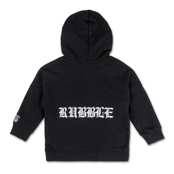 Rubble Hoodie (Black) - Haus of JR