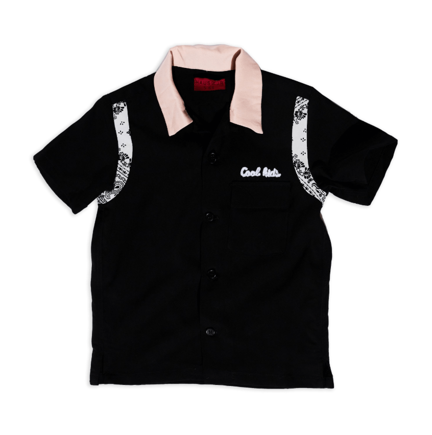 Cool Kids Short Sleeve Button Up - Haus of JR