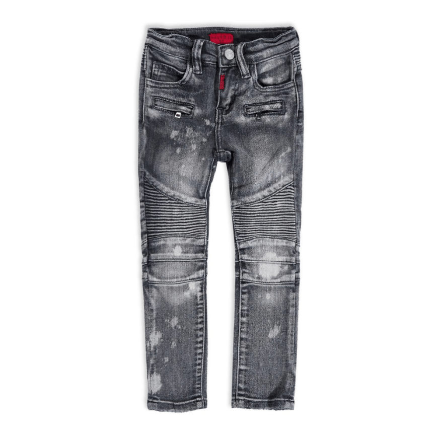 Johnson Biker Denim (Grey) - Haus of JR