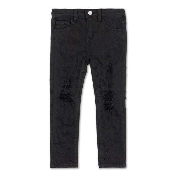 Slim Shotgun Denim (Black Wash)