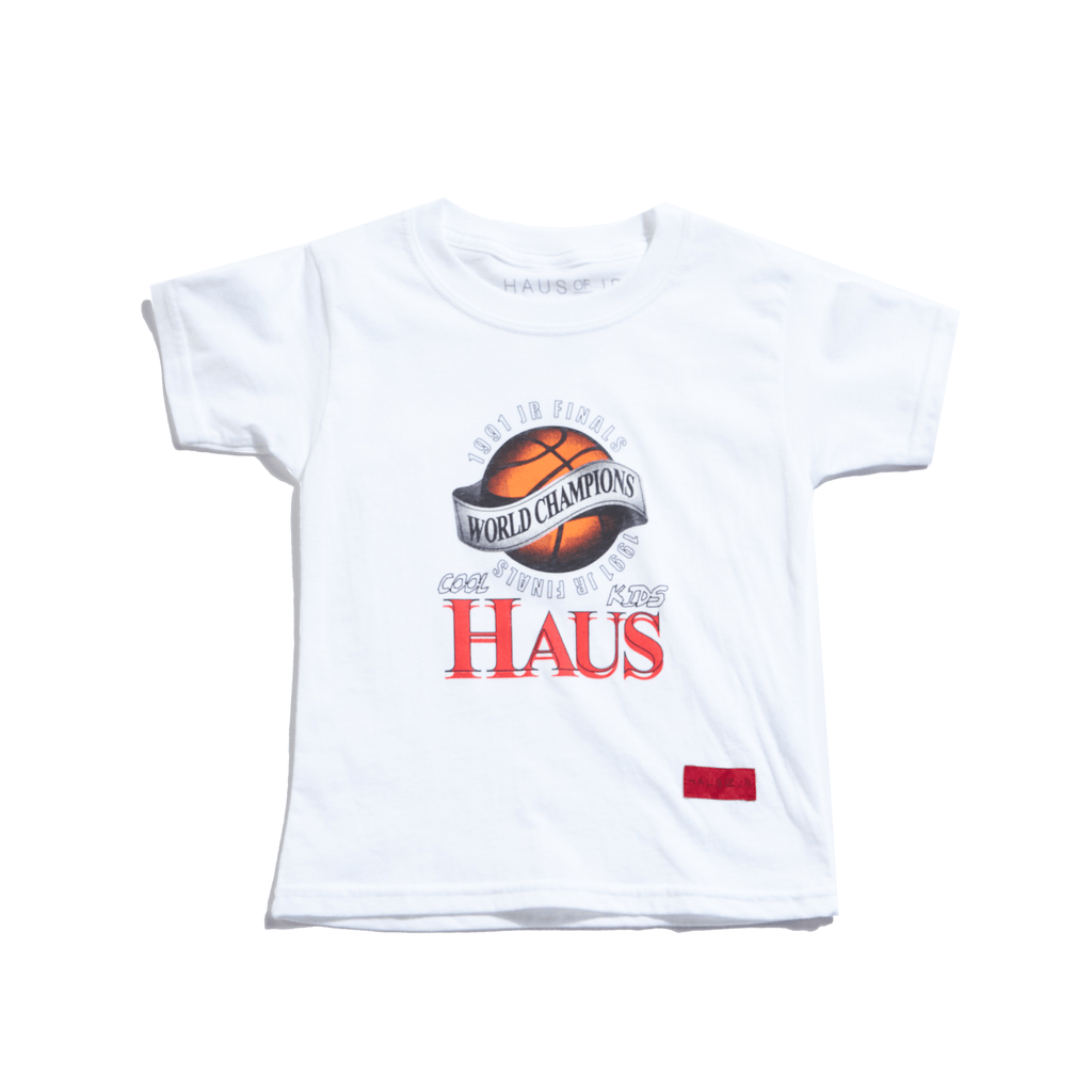 Champions Tee (White) Tops Haus of JR