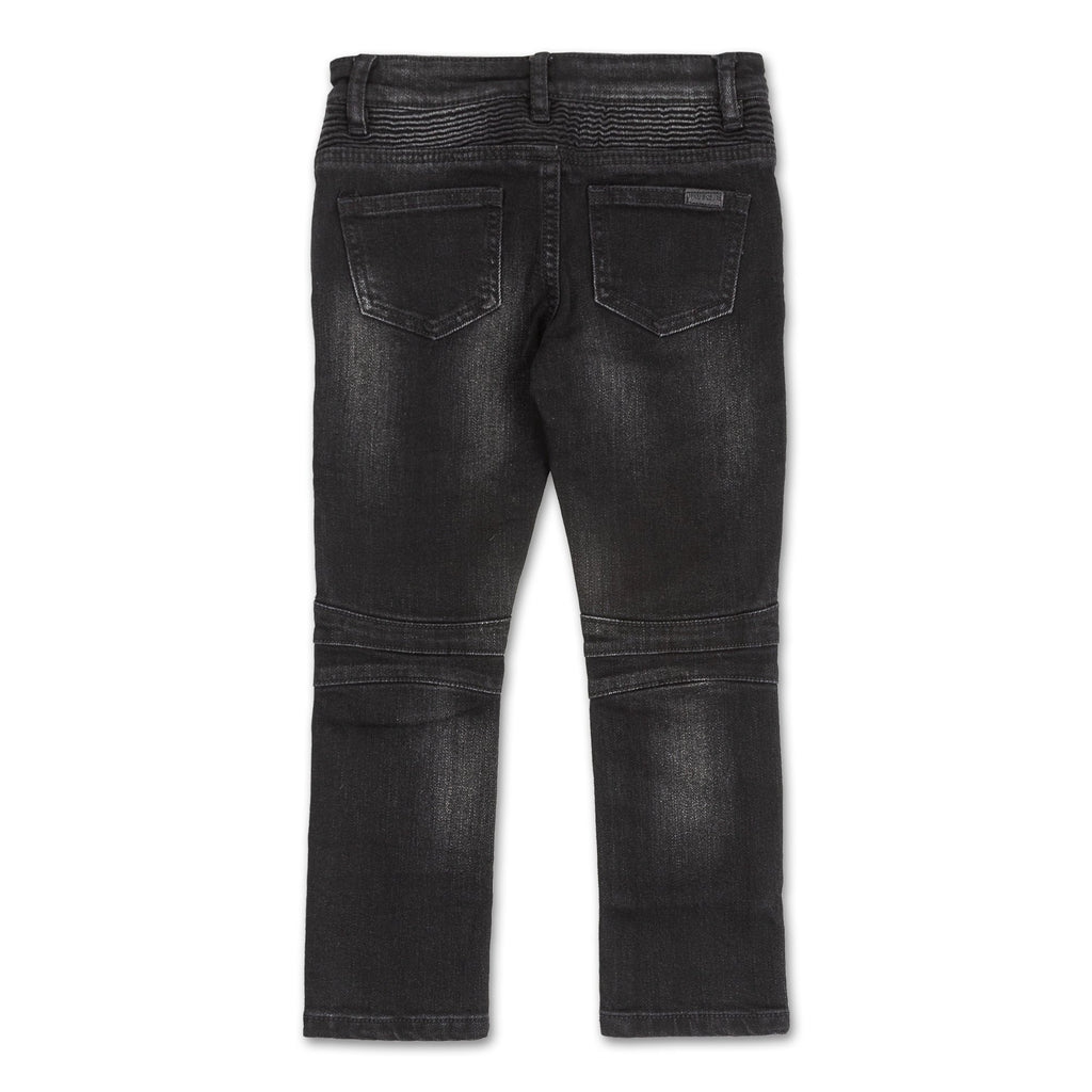 Clayton Biker Denim (Black) - Haus of JR