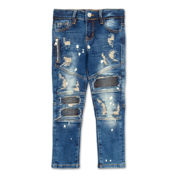 Clayton Biker Denim (Blue Stone)