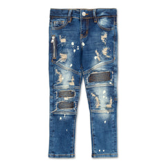 Clayton Biker Denim (Blue Stone) - Haus of JR