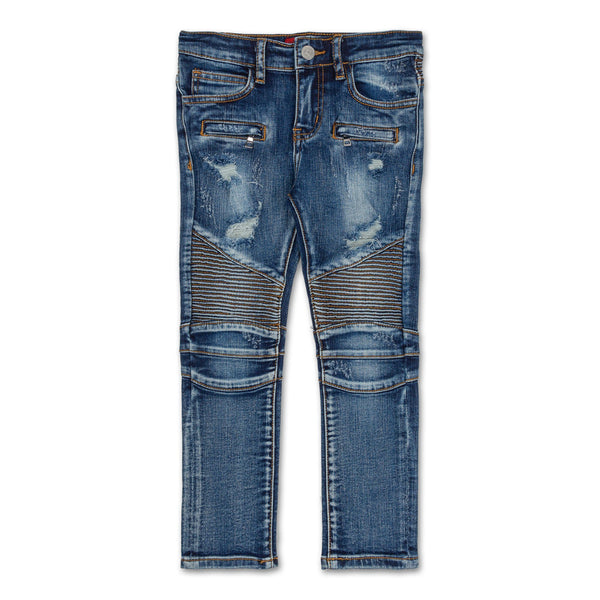 Clayton Biker Denim (Light Blue)