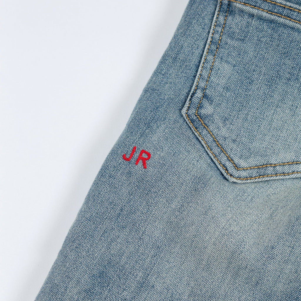 Dominic Rip and Repair Denim - Haus of JR
