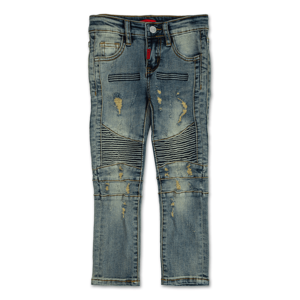 Eleanor Biker Denim - Haus of JR