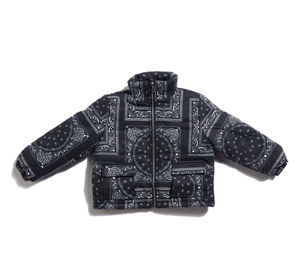 Erving Paisley Puffer Tops Haus of JR