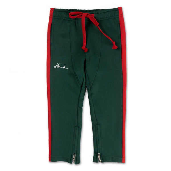 Brody Track Pant (Green/Red)