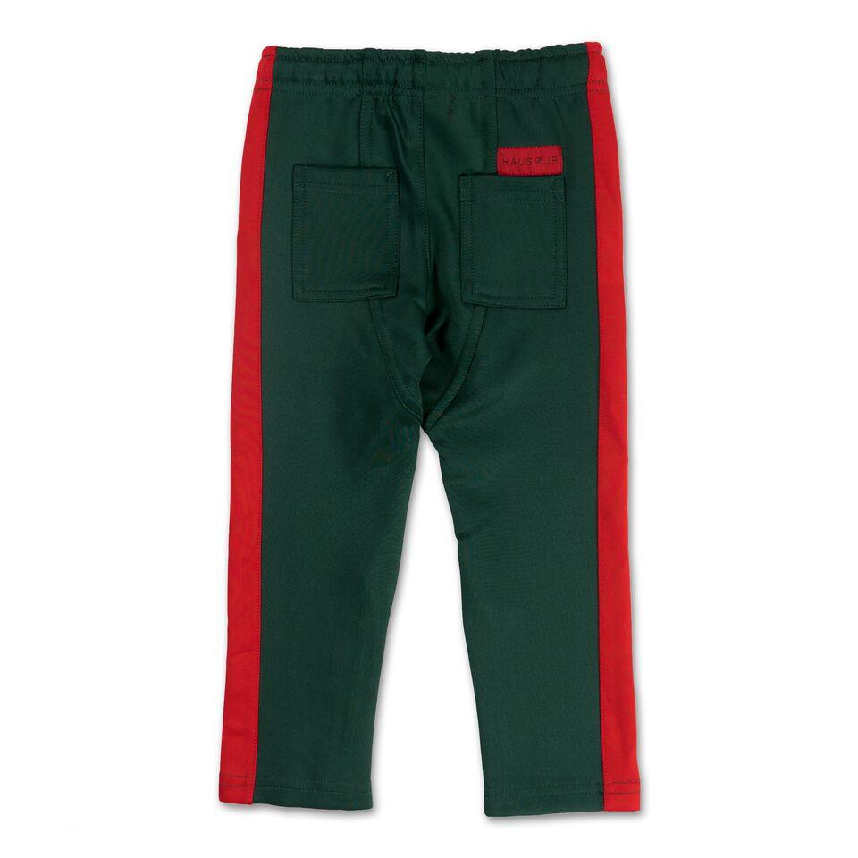 Brody Track Pant (Green/Red) - Haus of JR