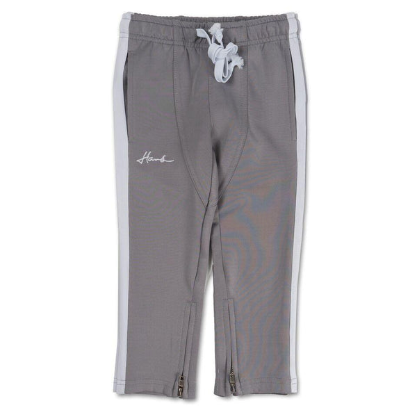 Brody Track Pant (Grey/White)