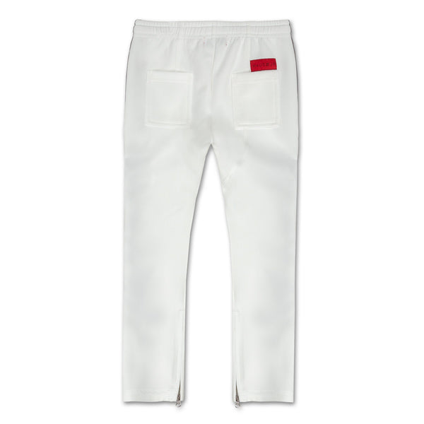 Haiden Track Pant (White) - Haus of JR