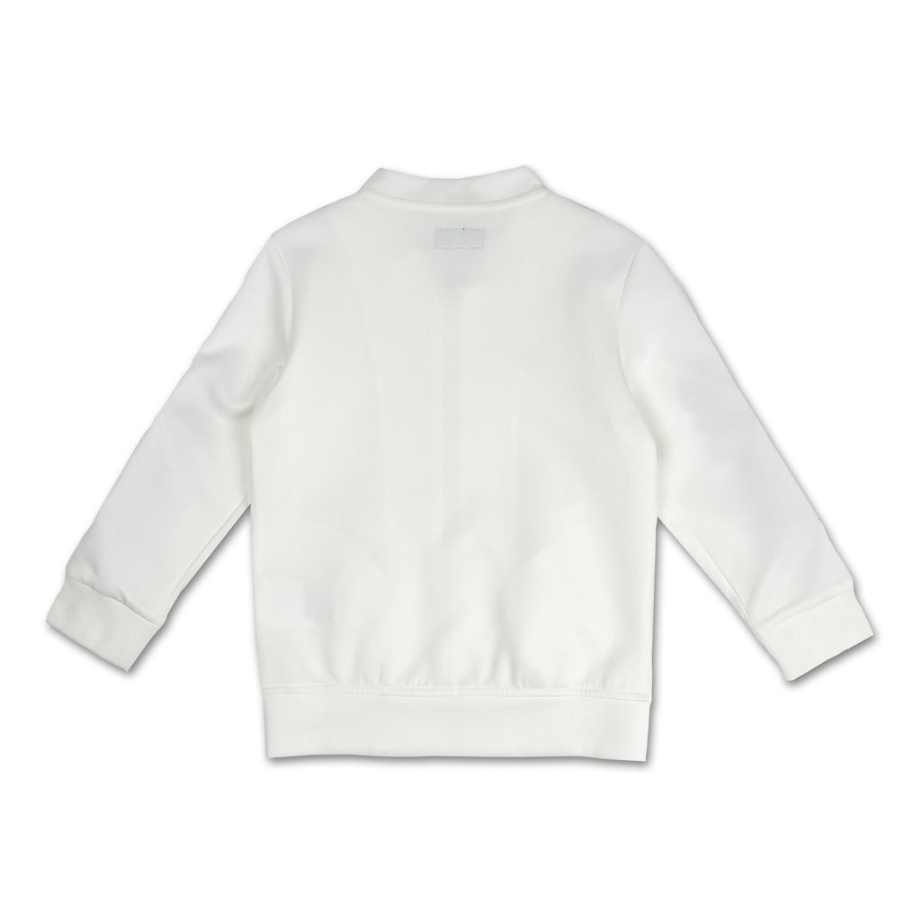 Haiden Track Jacket (White) - Haus of JR