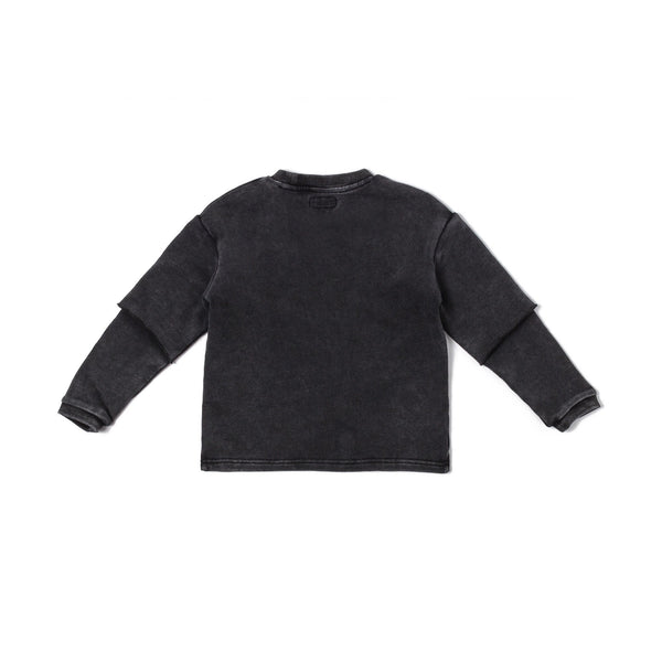 Hayden Crewneck (Powerwash Black) - Haus of JR
