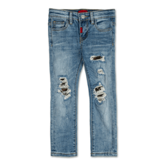 Jolene Rip and Repair Denim - Haus of JR