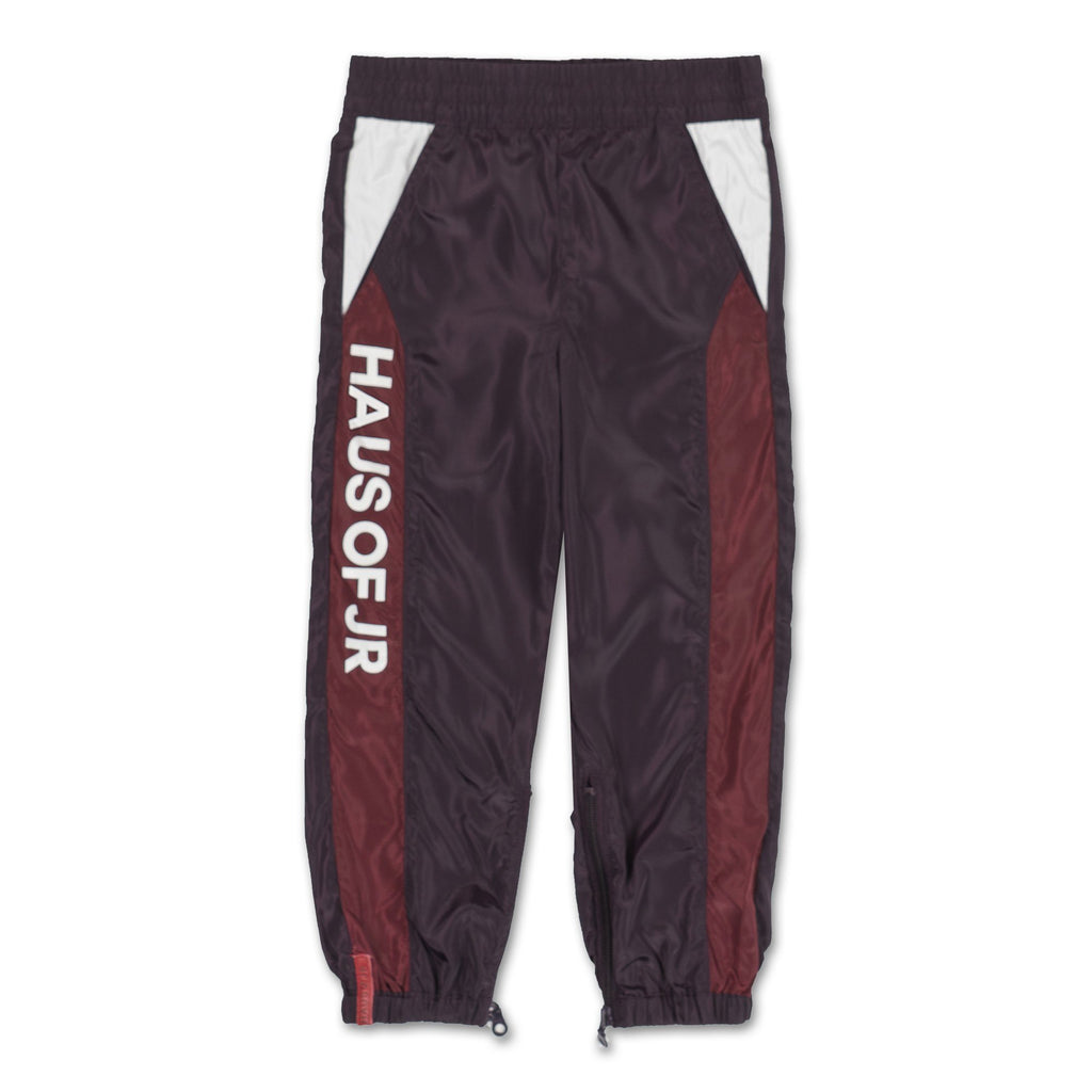 Mason Windbreaker Pant (Maroon) - Haus of JR