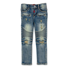 Mateo Biker Denim - Haus of JR