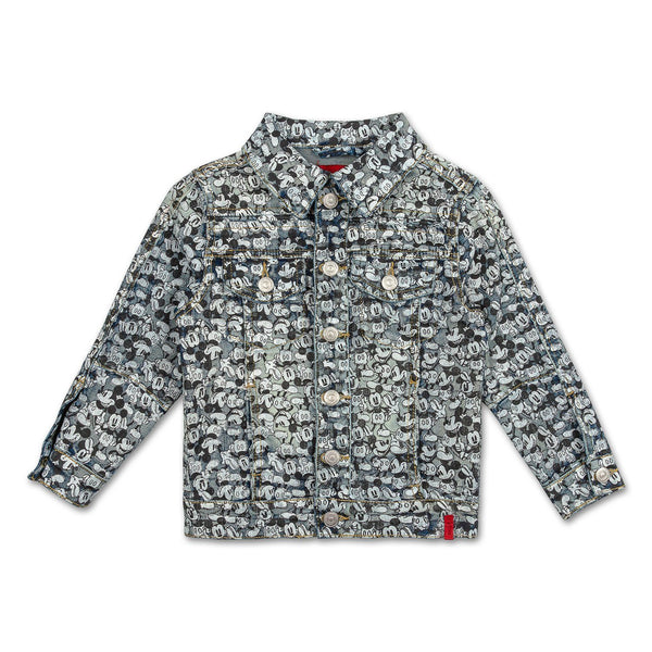 Mickey Character Denim Jacket - Haus of JR