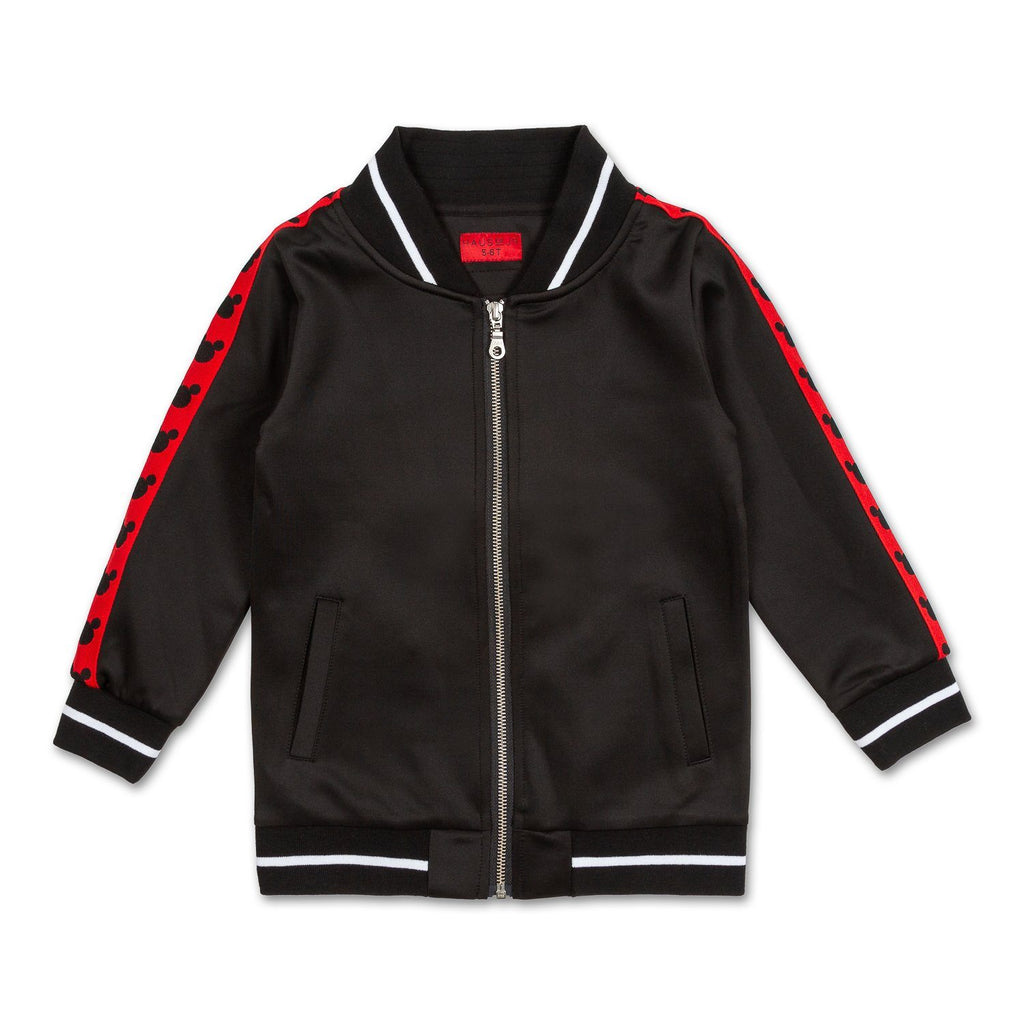 Mickey Stripe Track Jacket - Haus of JR
