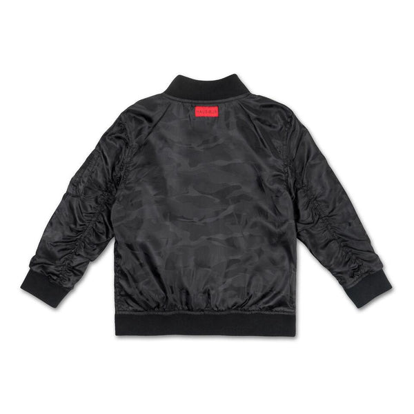 Midnight Camo Devin Jacket (Black) - Haus of JR