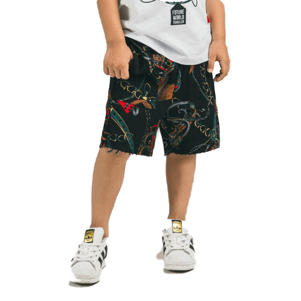 Natica Peanut Short (Black)