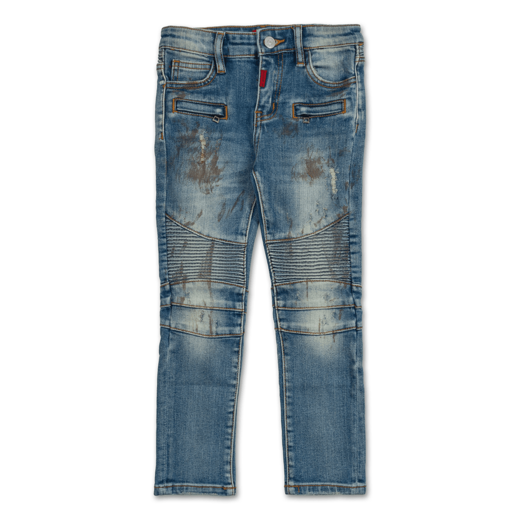 Olivia Biker Denim - Haus of JR
