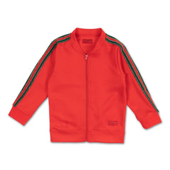 Stefan Track Jacket (Orange) - Haus of JR