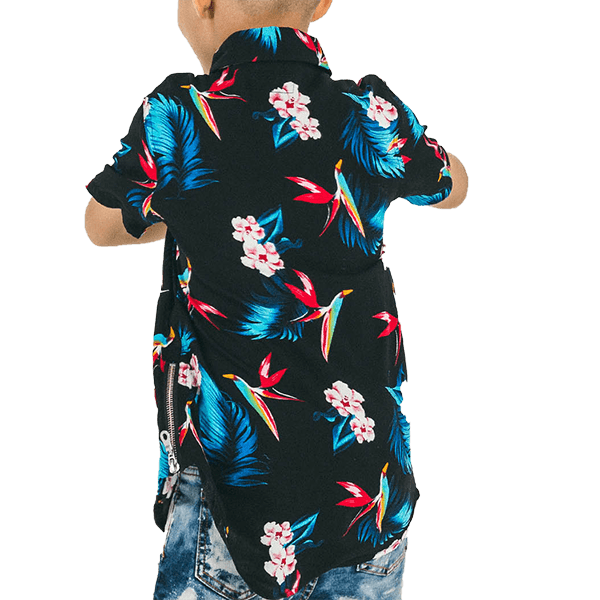Paradise Button Up - Haus of JR