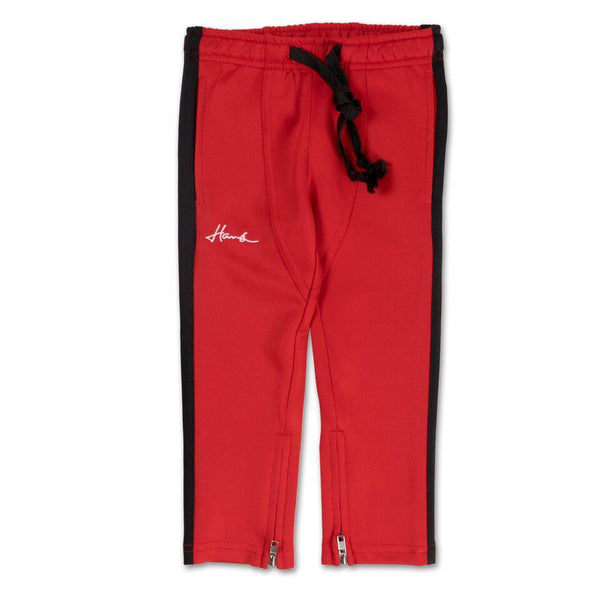 Brody Track Pant (Red/Black)