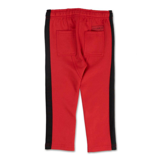 Brody Track Pant (Red/Black) - Haus of JR
