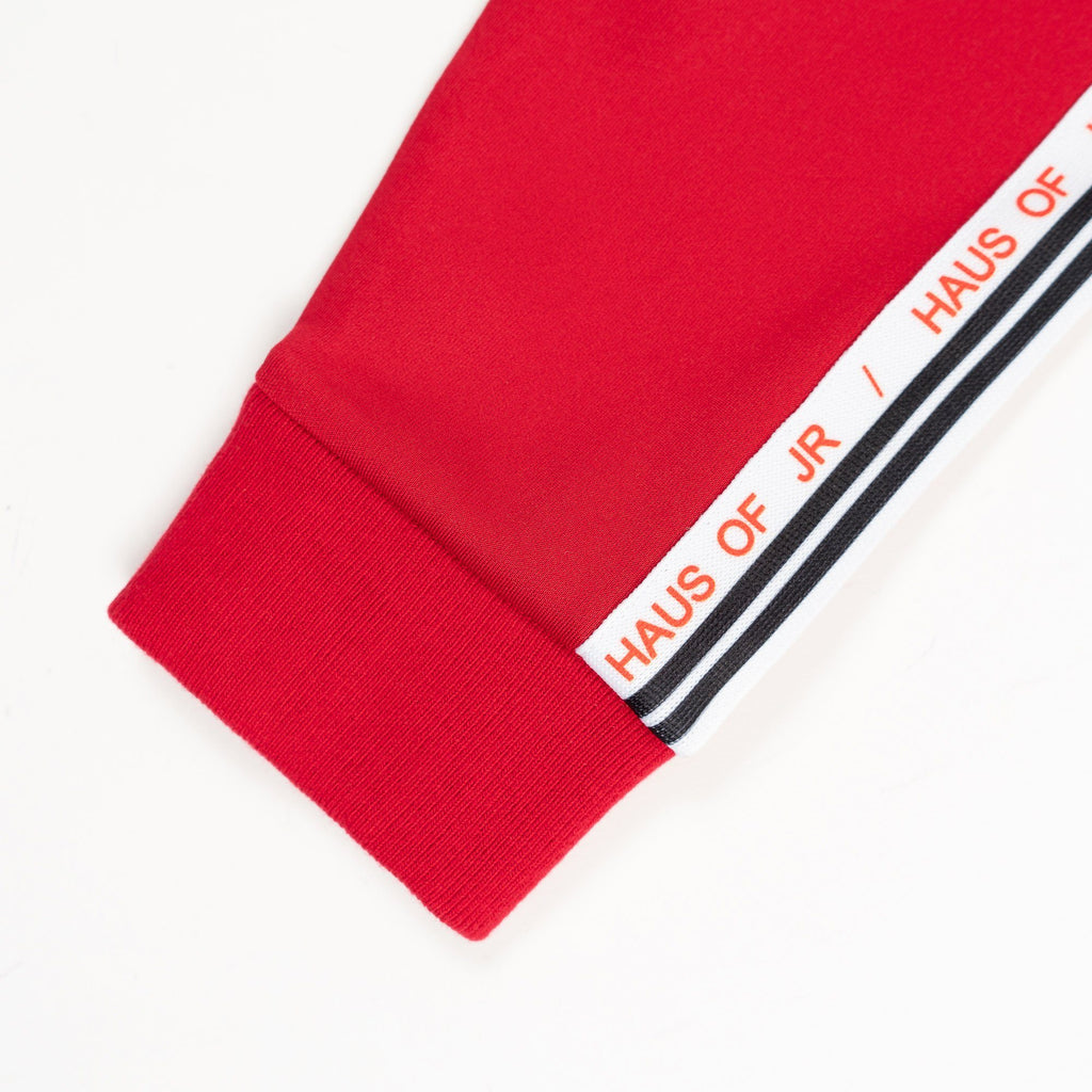 Laurent Track Jacket (Red) - Haus of JR