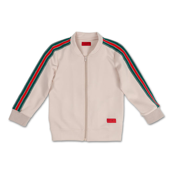 Reese Track Jacket (Creme) - Haus of JR