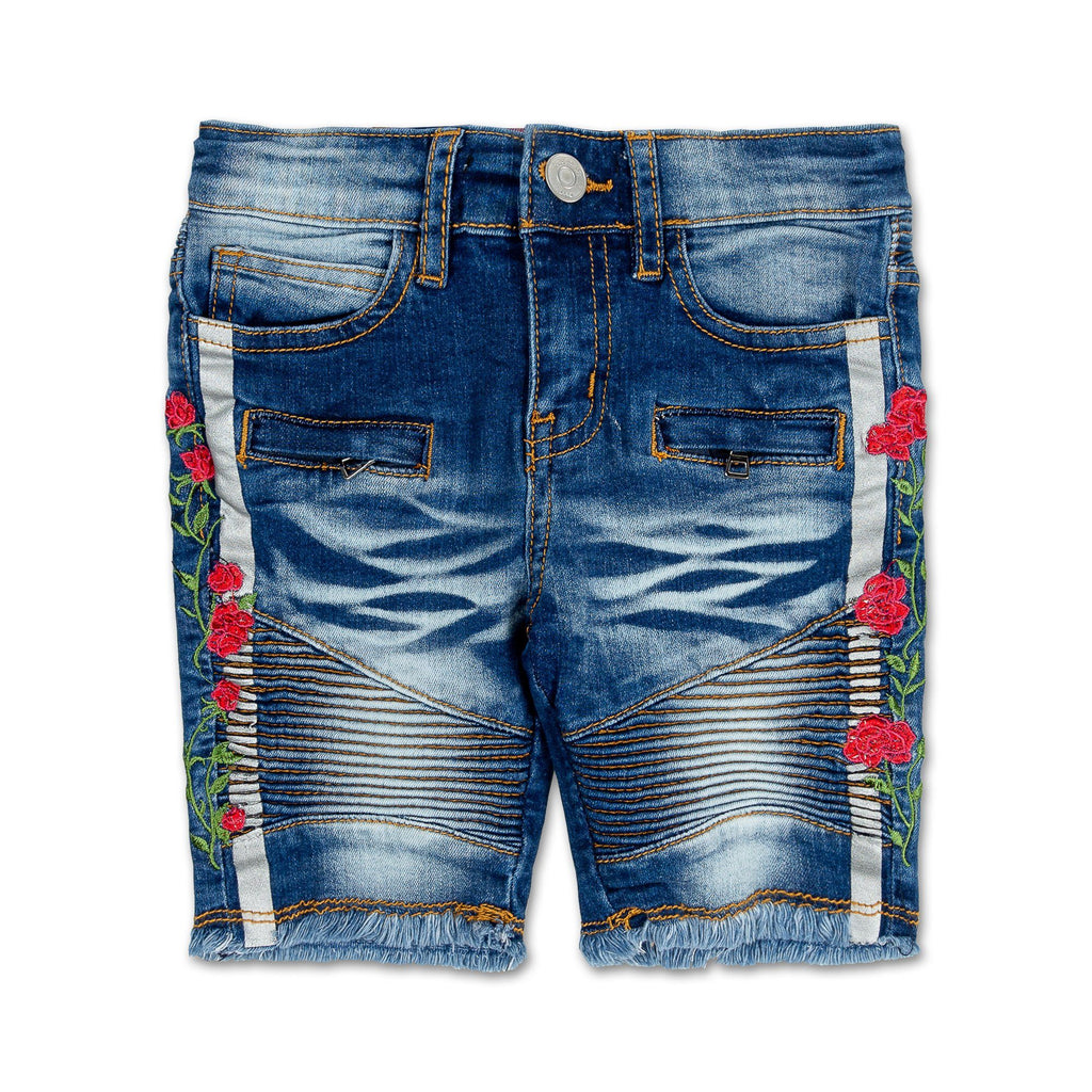 Ronn Biker Short (Indigo) - Haus of JR